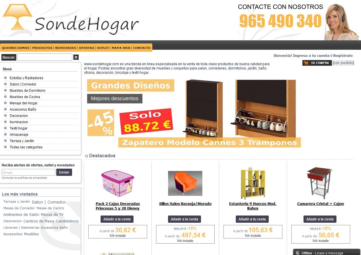 Venta en productos para el hogar for Articulos modernos para el hogar