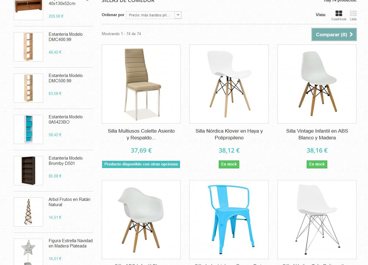 Tienda online de muebles y art culos de decoraci n para el for Muebles y decoracion para el hogar