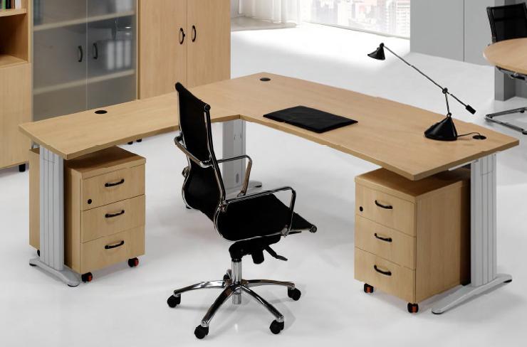 S el rey de la oficina con esta mesa de direcci n for Direccion de la oficina