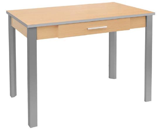 Pr ctica mesa de cocina con caj n en sobrantesdestocks for Mesa cocina con cajon